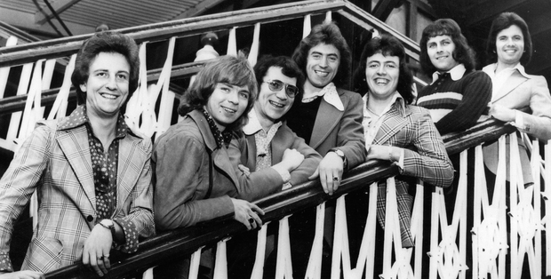 The Miami Showband with Fran O'Toole (second from left)