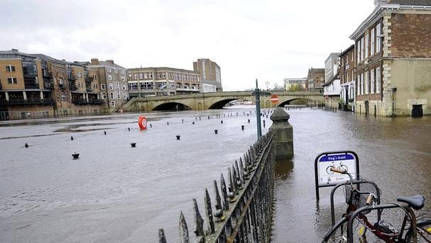Floods hit Ireland after Storm Desmond swept the country recently