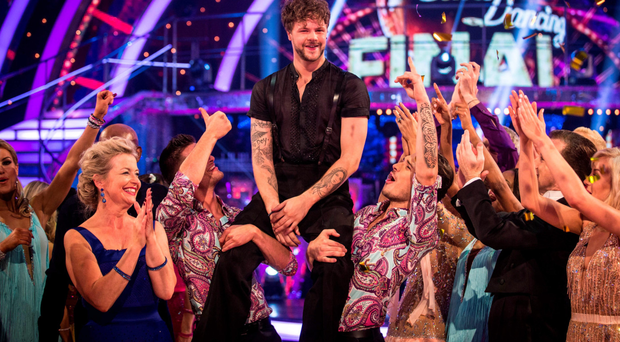 Jay McGuiness, who along with his partner Aliona Vilani, were the winners of Strictly Come Dancing