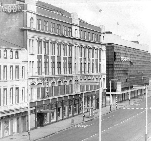 The Orpheus building in York Street, Belfast, in 1971
