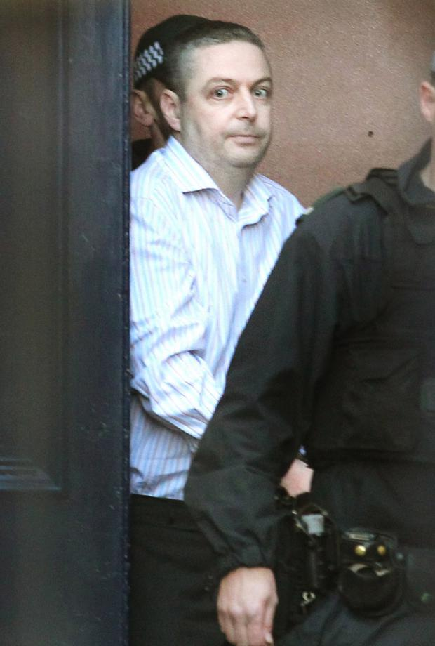 Christopher O'Kane at an earlier court appearance