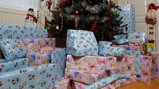Many Christmas presents and decorations can be a choking hazard, doctors have warned