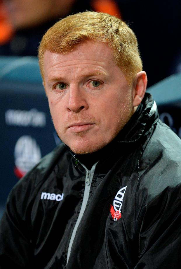 Regrets: Bolton boss Lennon