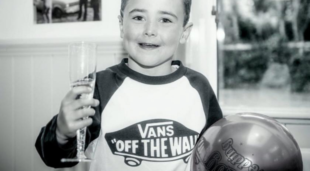 A new picture of seven-year-old Ryan McGovern that was released yesterday as the young Belcoo boy was laid to rest