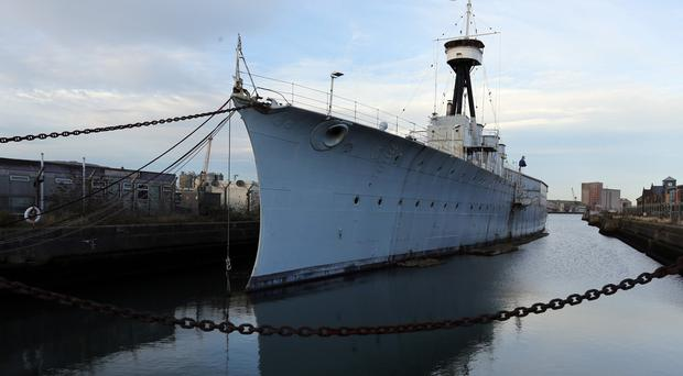 HMS Caroline, the last surviving vessel of the Battle of Jutland, will be launched as a heritage visitor attraction
