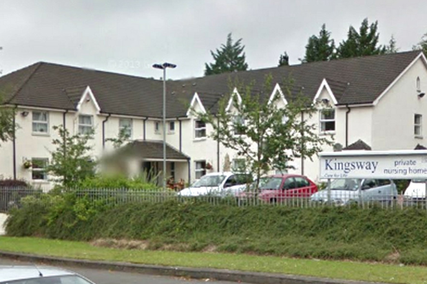 Kingsway Private Nursing Home in Dunmurry has been told it must meet basic standards of care