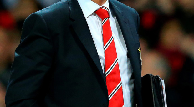 Embattled: Louis van Gaal