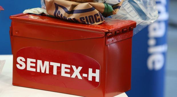 Semtex was the weapon of choice for republican terrorists (File photo)