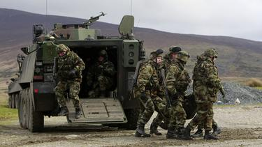 Army feared British would ask for its troops to cross border
