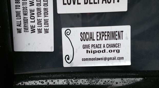One of the Kindness Drawers left in Belfast