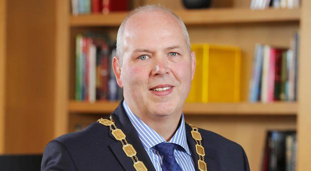 Stephen McCully, president of the NI Chamber, said