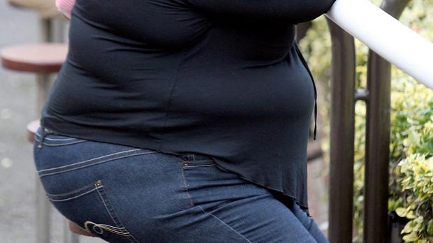 Some 35% of adults are deemed overweight while a further 25% are reported as obese, according to the figures
