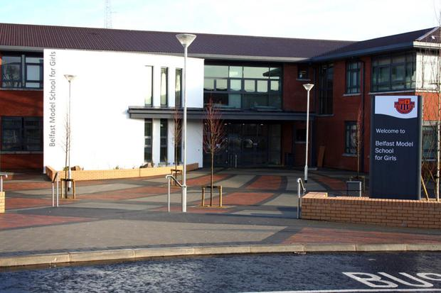 The PSNI ramped up patrols at Belfast Model School for Girls this week following news of the approach in Joanmount Gardens around 3.40pm
