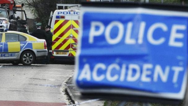 A six-year-old girl died after a three-vehicle crash in Newry