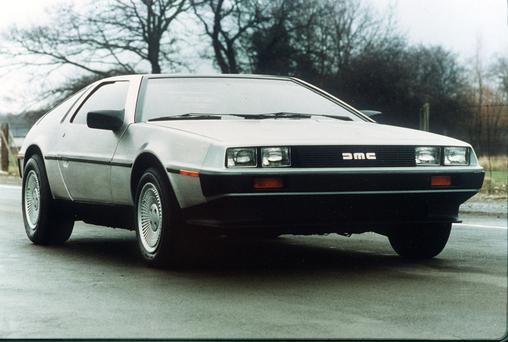 The DeLorean car