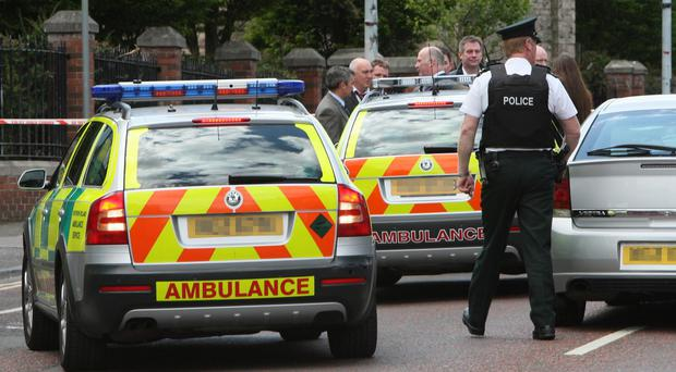 The man was attacked in Toomebridge.