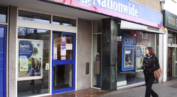 Nationwide in Coleraine was closed yesterday