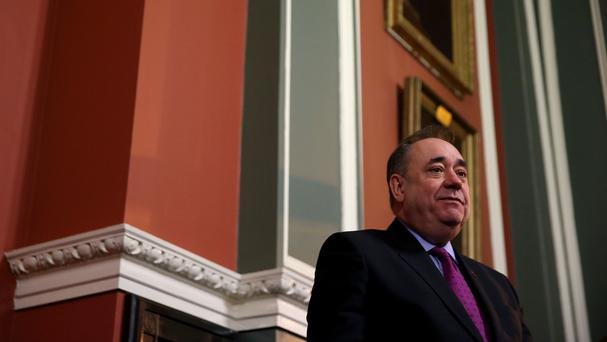 Alex Salmond warned against a referendum being held too soon after polls in Scotland, Wales and Northern Ireland