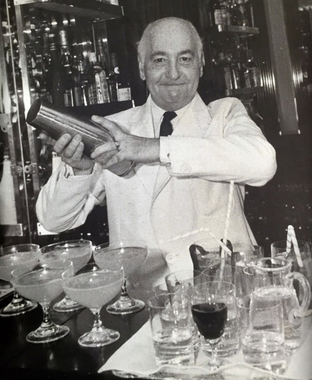 Joe Gilmore made cocktails for celebs such as Princess Diana, Charlie Chaplin, Neil Armstrong, Winston Churchill and Frank Sinatra