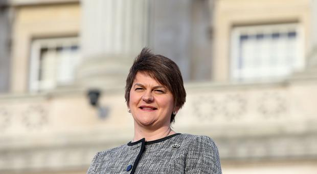 Arlene Foster has attended her first question time session since being appointed head of the Northern Ireland Assembly
