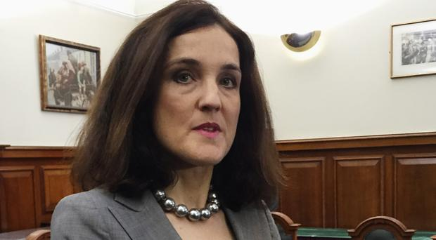 Theresa Villiers would not be drawn on the benefits of an EU exit for Northern Ireland