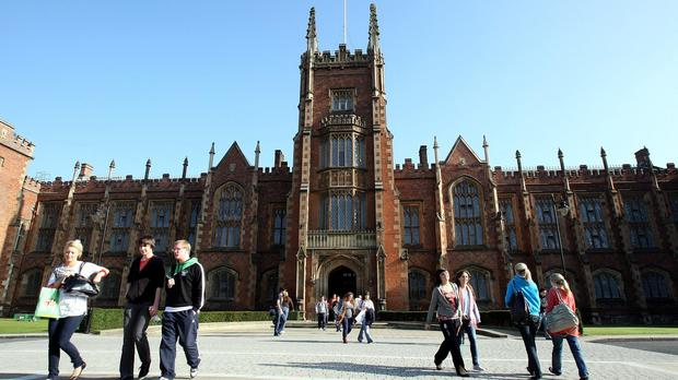 Mandela Hall is part of Queens University in Belfast.