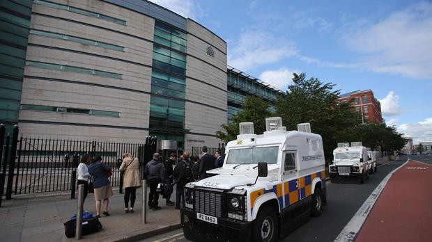Ancuta Schwarz appeared before a judge at Belfast Magistrates' Court