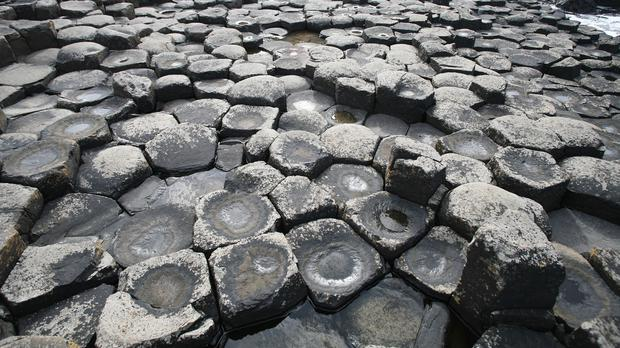 The Giant's Causeway is a popular tourist attraction in Northern Ireland