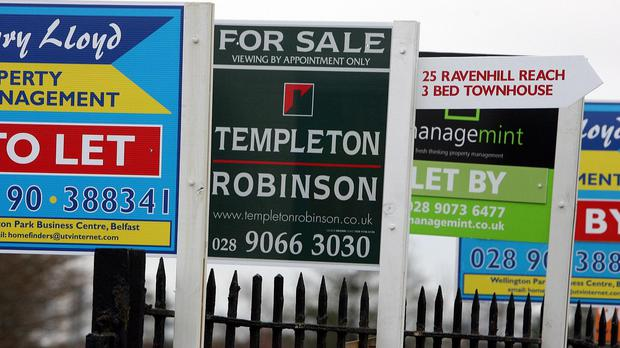 On the up: Mortgage lending reached its highest level in seven years in 2015