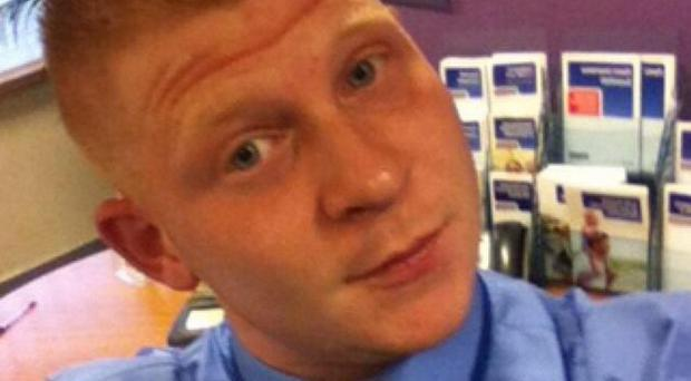 Christopher Burgess faces charges over the robbery at a building society