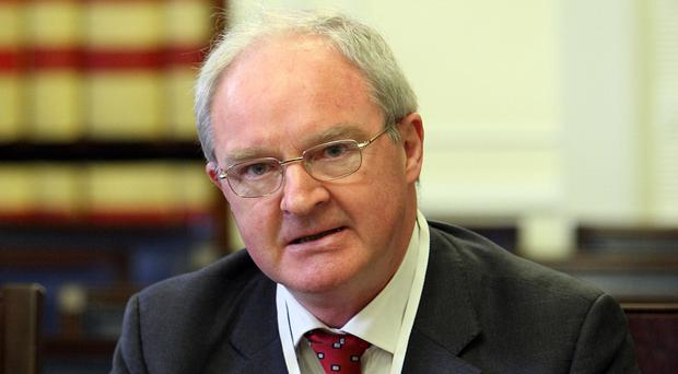The judge is reviewing the stalled inquests on behalf of Northern Ireland's Lord Chief Justice Sir Declan Morgan