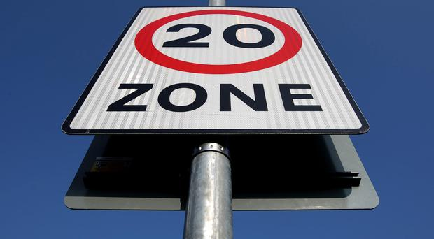 20mph speed limit zones are being introduced in Belfast