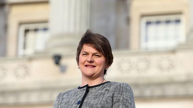 Arlene Foster said it would be up to the people of the UK to decide the best way forward