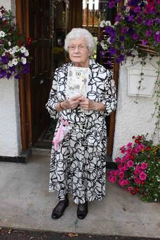 Former mayor of Ballymoney Mollie Holmes celebrates her 100th birthday last year