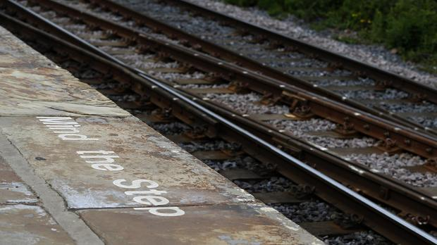 Views of rail tracks.PRESS ASSOCIATION Photo. Picture date: Wednesday June 17, 2015. See PA story . Photo credit should read: Lynne Cameron/PA Wire