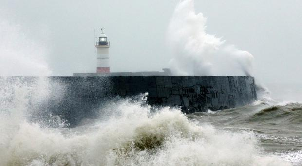 A succession of storms have battered Britain since December