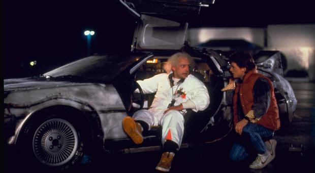 The Belfast-made sports car, which was used as a time machine in the film Back to the Future