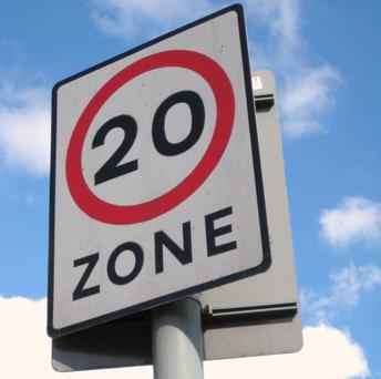 New speed limits will come into force on 76 roads across Belfast city centre tomorrow