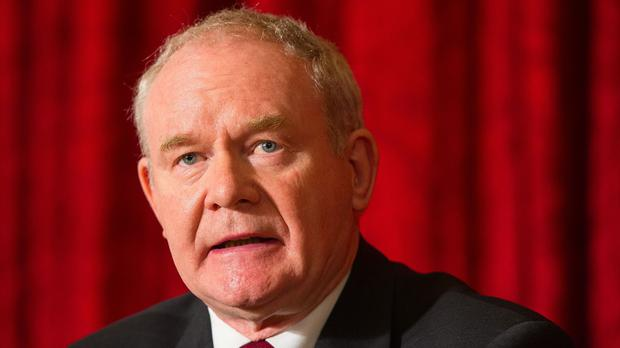 Martin McGuinness said it is important that he and Arlene Foster engage with Scotland, Wales and the Prime Minister on the timing of the referendum