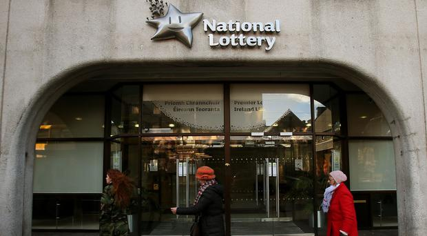 The claimant is yet to attend the National Lottery headquarters in person