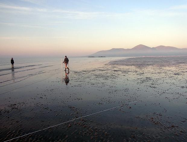 Body of woman found on Tyrella beach Co Down. [File photo]