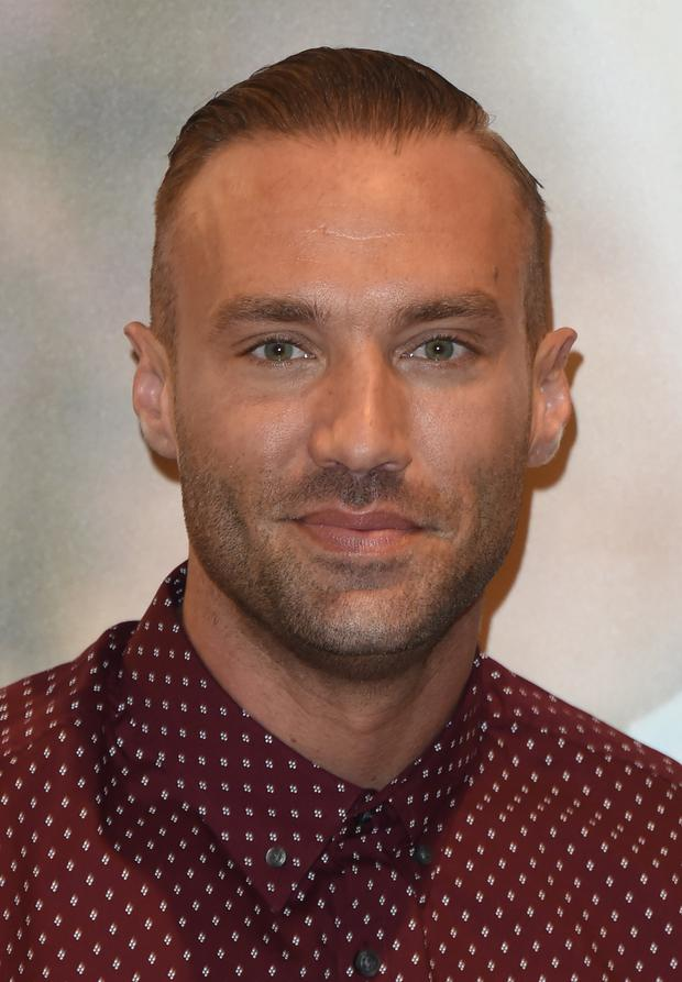Went drinking: Calum Best
