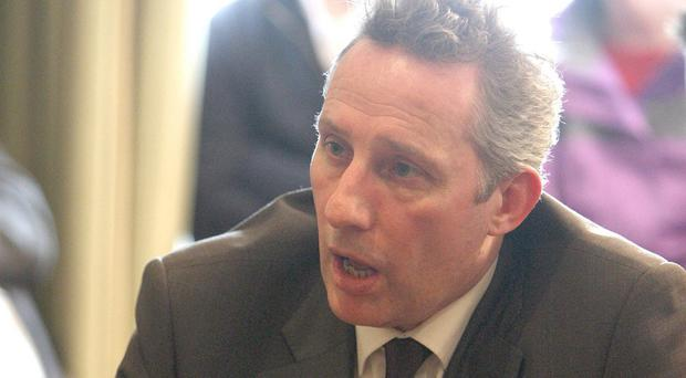 Ian Paisley says electronic surveillance already substitutes for physical barriers and exists for security reasons