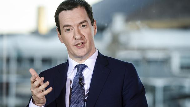 George Osborne has said the UK-wide tax rate will go down to 18% by 2020