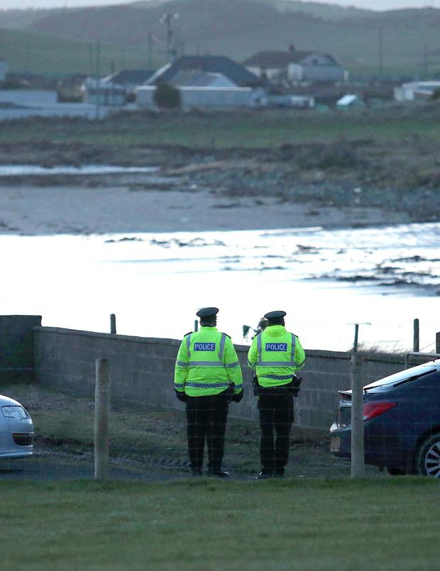Investigation: Police at Tyrella