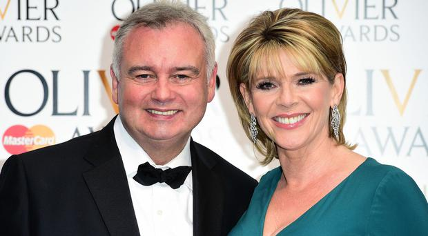 Eamonn Holmes, pictured with wife Ruth Langsford.
