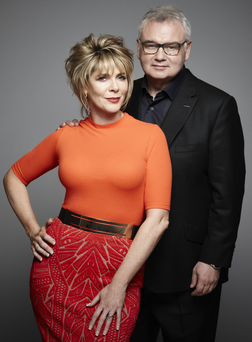 Ruth Langsford with her husband Eamonn Holmes