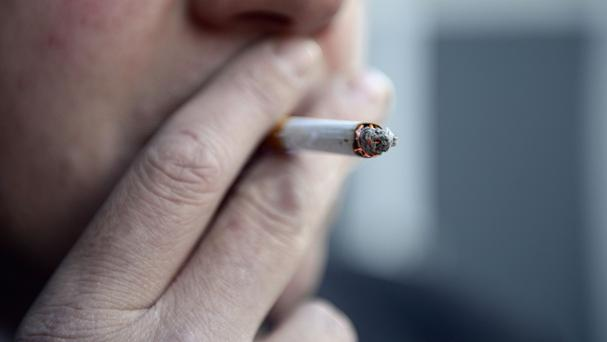 Smoking anywhere in the grounds of any Northern Ireland hospital is to be banned from March