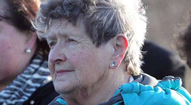 Bea Worton is challenging the decision to continue to call the park in Newry after Raymond McCreesh