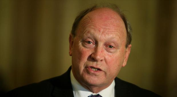 The attorney general's concerns were revealed in a letter to Jim Allister (pictured)